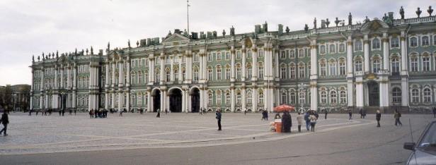 The Hermitage Museum, St Petersburg.