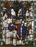 The Great East window, the two witnesses ascend to heaven, Panel 7. © NMR.
