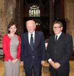 Helen Whittaker, Denys Hodson, Keith Barley. Image courtesy of Jonathan Stebbing