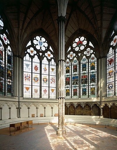 The Chapter House interior. © English Heritage.