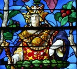 King Solomon, Tree of Jesse, church of Saint-Etienne, Beauvais.