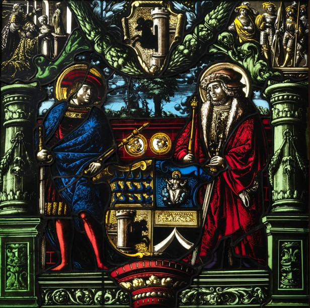 Panel made for the monastery of Allerheiligen Schaffhausen, c. 1529, by Lienhard Brun, now MzA (cat. no. 90).