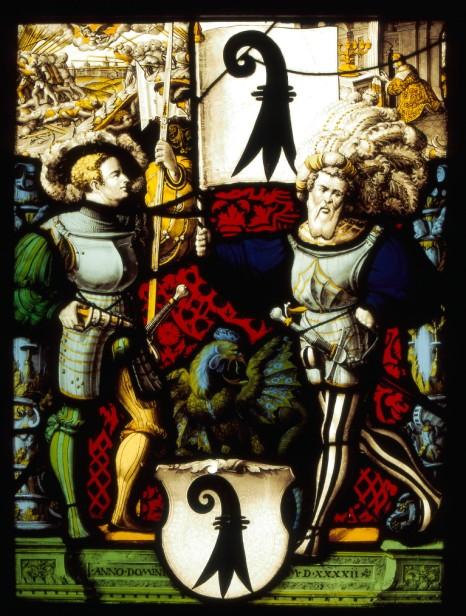 Canton Panel of Basle, 1542, Carl von Egeri, Stein am Rhein Town Hall (cat. no. 147).