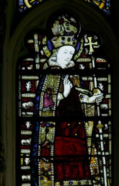 St Thomas Becket, Collegiate church of St Mary, Warwick.