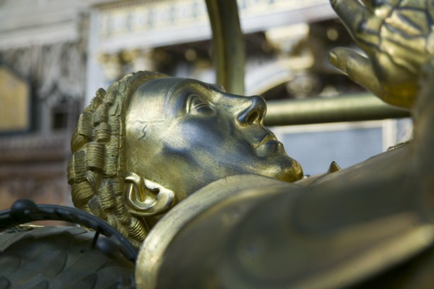 Effigy of Richard Beauchamp, Earl of Warwick (1382-1439).