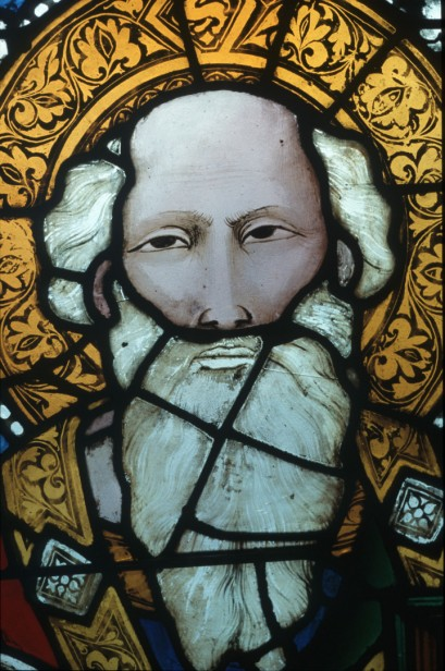 Detail of St John the Evangelist from nI.© Centre André Chastel (UMR 8150).