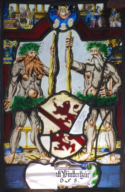 Arms of the City of Winterthur of 1658.