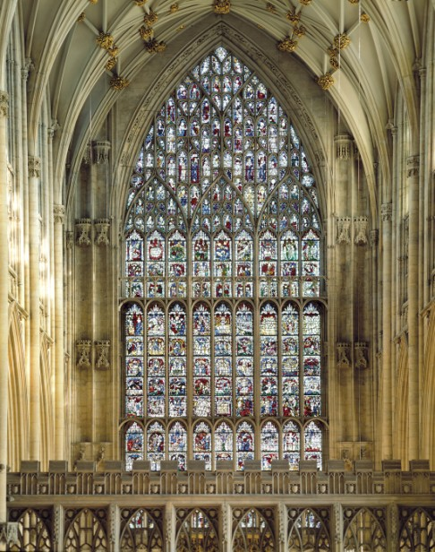 The Great East Window, York Minster: reproduced by kind permission of the Dean and Chapter of York.
