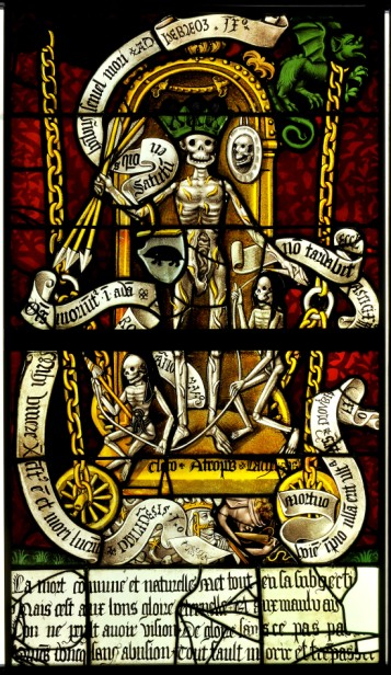 The Triumph of Death, church of Saint-Pierre-ès-Liens, Ervy-le-Châtel (Aube).