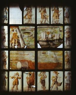 Barnston window, St Chad's church, Farndon, Cheshire. © English Heritage/NMR.