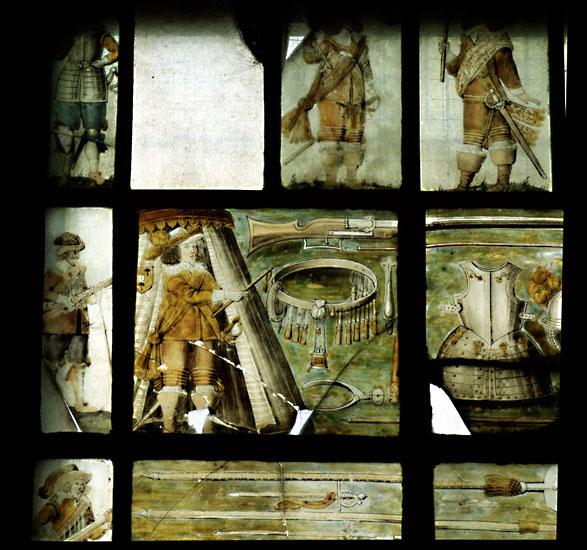 Sir Francis Gamul, Barnston window, St Chad's church, Farndon, Cheshire. © EnglishHeritage/NMR.