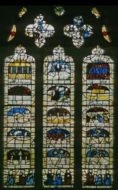nIII, The Pricke of Conscience window.