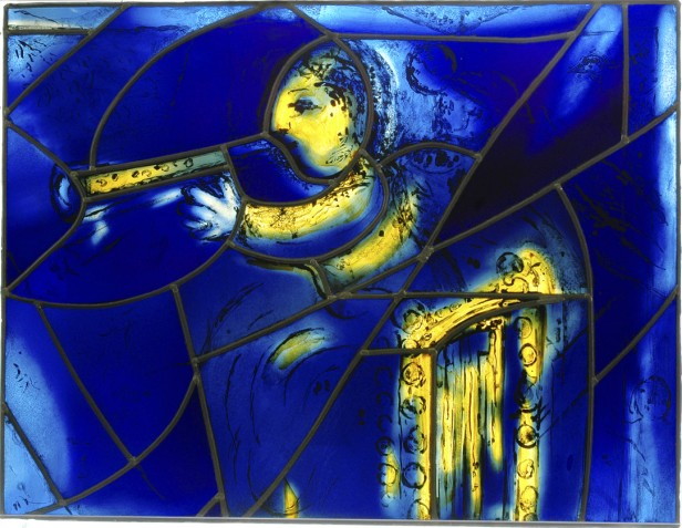 Marc Chagall, America Windows (detail), 1977. © 2008 Artists Rights Society (ARS), New York / ADAGP, Paris.