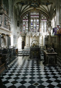 The Beauchamp Chapel, Collegiate church of St Mary, Warwick. © YM Pictures.