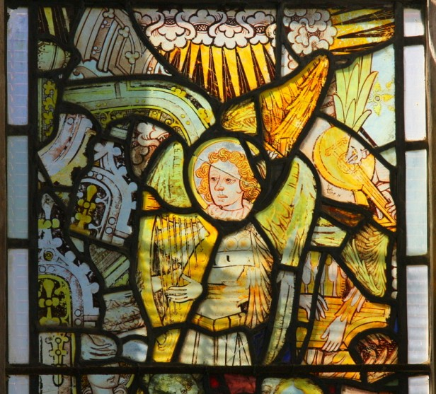 St Agnes, Cawston (Norfolk) glass (c.1460). © Mike Dixon.