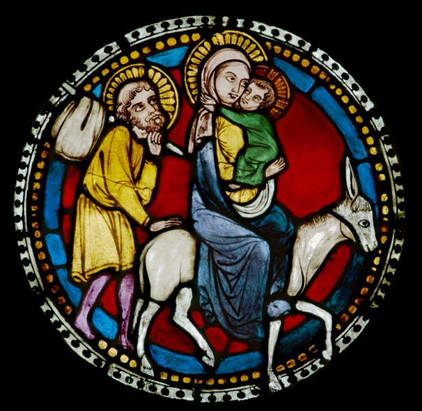 Fig. 2. The Flight into Egypt, church of the Benedictine abbey Neuweiler (Alsace).