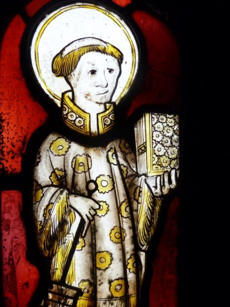 St Lawrence, fifteenth century. © Sam Fogg