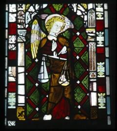 St Michael weighing a soul, I 2b