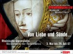 Poster for the Cologne exhibition of Renaissance stained glass.