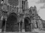 Fig. 1. The south porch of Chartres Cathedral.