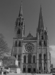 Fig. 4. Chartres Cathedral from the west
