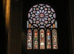 Fig. 6. The rose window in the north transept of Chartres Cathedral