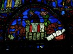 Fig. 7. Stone masons and carvers: donors in the St Sylvestre window