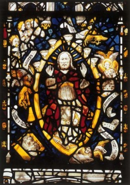 God in Majesty: 11h, east window, York Minster