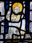 Fig. 2. Figure of Christ, sIV, St Martin-le-Grand, Coney Street, York.