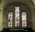 Fig. 7. The east window of St Mary's Church, in Marston Bigot, Somerset.