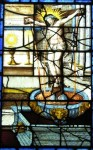 Fig. 9. The Fountain of Life, east window of Marston Bigot church, Somerset