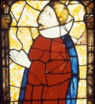 Fig. 1. Clerical donor, Saint-Etienne, Toulouse, France, fifteenth century