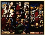 One of the Victoria & Albert Museum's panels from Saint-Pierre-du-Chatel, Rouen, France. Scenes from the life of St Peter, sixteenth century.
