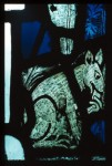 York Minster, nXXV, detail of fox in the border. Thomas French, (C) Dean and Chapter, York Minster