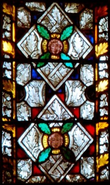 Ornamental panel from the Dominican church in Colmar