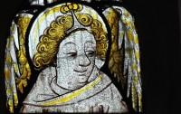 East window, panel B2.