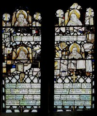 East window, south aisle (sIII).