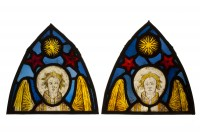 Half-length angels © Gallery Les Enluminures