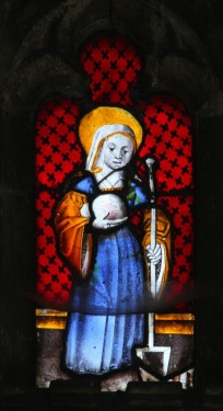 Virgin martyr, St Clement's church. © Mike Dixon