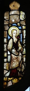 St Agatha, St Margaret's church, Cley. © Mike Dixon