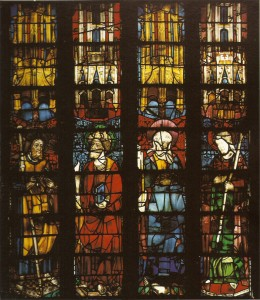 Apostles Window, Girona Cathedral. © CV Catalonia