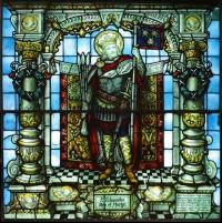 St Edmund by C.E. Kempe.