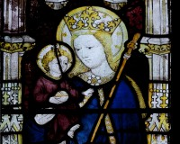 The Virgin Mary with Christ Child, All Souls College, Oxford c. 1441-2