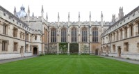 Fig. 3. South side of chapel, All Souls College, Oxford