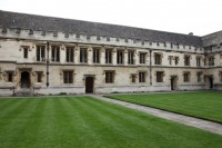 The Old Library, All Souls College, view from the west