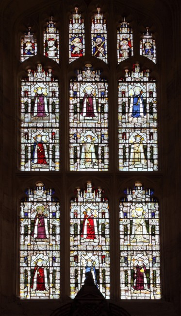 Fig. 18. The 'Royal' Window, All Souls College