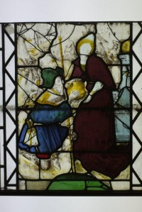Fig. 1. Rebecca and Isaac at the Well before conservation. ©Jonathan and Ruth Cooke