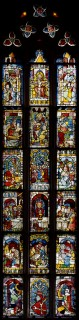 Fig. 4. Nuremberg, St Martha, choir, I (whole window). (Rüdiger Tonojan, CVMA Freiburg)