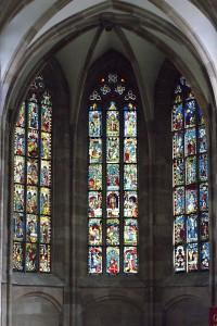 Fig. 5. View into the choir. Nuremberg, St Martha. (Ulrich Engert)