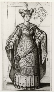 Fig. 3. Cartoon by Willem Tybaut of Haarlem: Lady Ada.